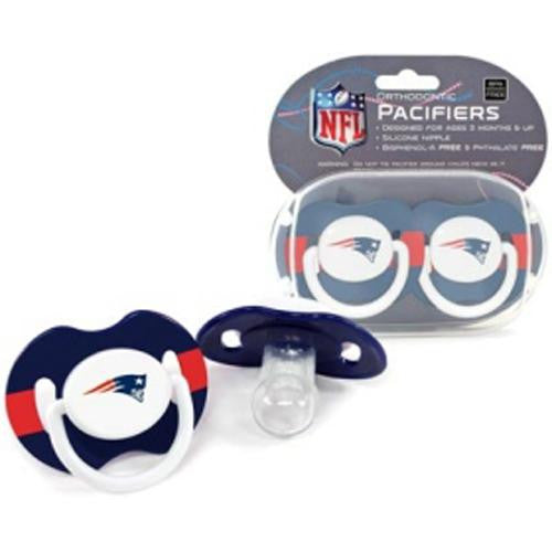New England Patriots NFL Baby Pacifiers (2 Pack)