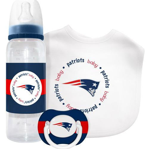 New England Patriots NFL Baby Gift Set