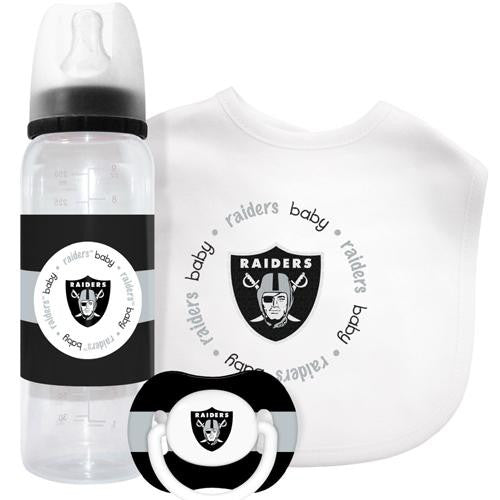 Oakland Raiders NFL Baby Gift Set