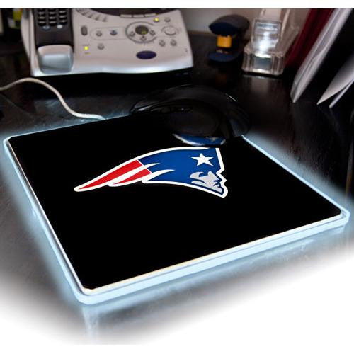 New England Patriots NFL LED Lighted Mouse Pad xyz