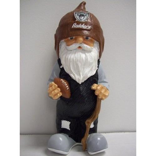 Oakland Raiders NFL Garden Gnome 11 Retro