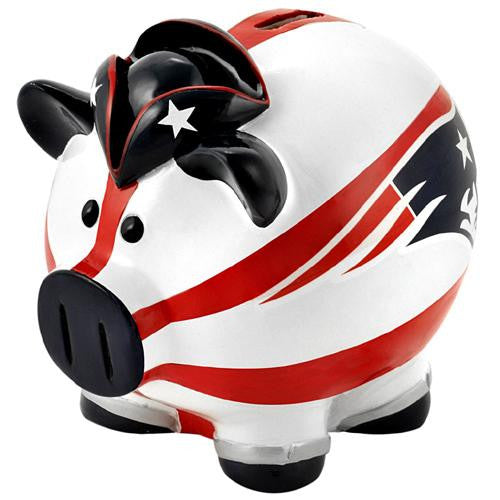 New England Patriots NFL Team Thematic Piggy Bank (Large) xyz