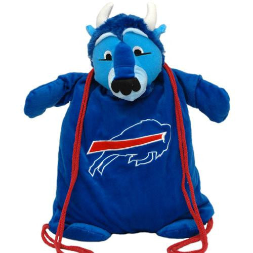 Buffalo Bills NFL Plush Mascot Backpack Pal