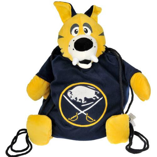 Buffalo Sabres NHL Plush Mascot Backpack Pal