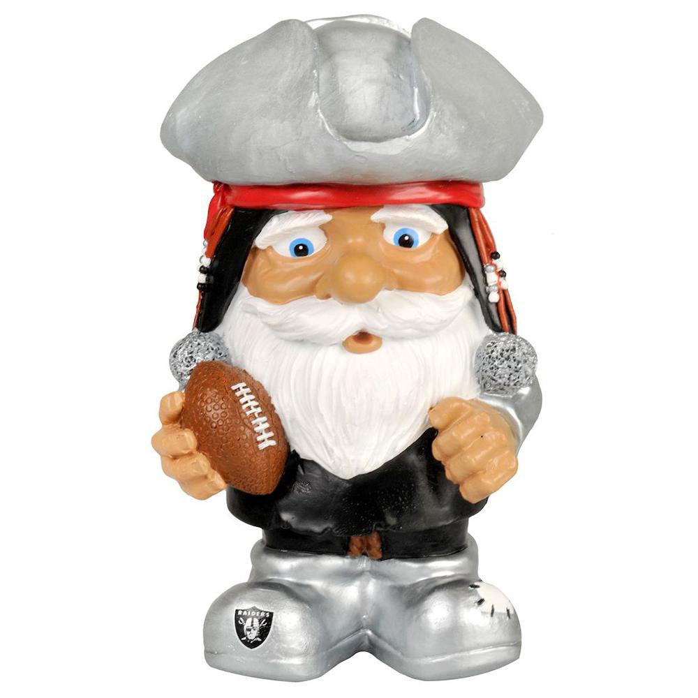 Oakland Raiders NFL Mad Hatter Gnome