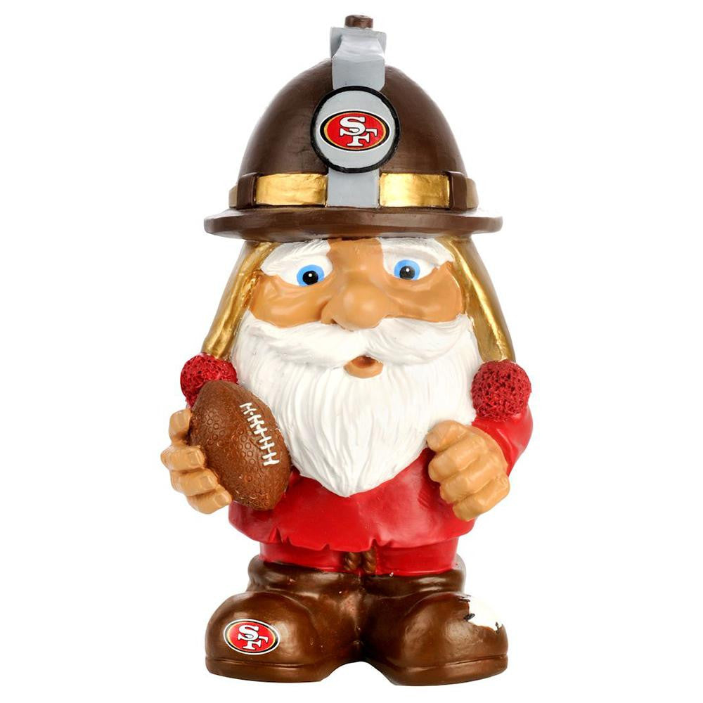 San Francisco 49ers NFL Mad Hatter Gnome