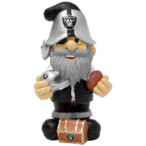 Oakland Raiders NFL Garden Gnome 11 Thematic  (Second Edition)