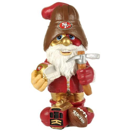 San Francisco 49ers NFL Garden Gnome 11 Thematic  (Second Edition)