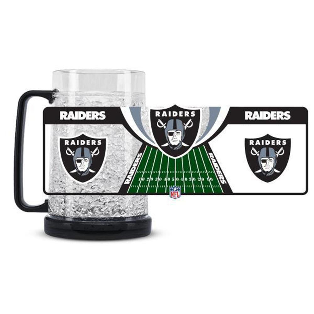 Oakland Raiders NFL Crystal Freezer Mug