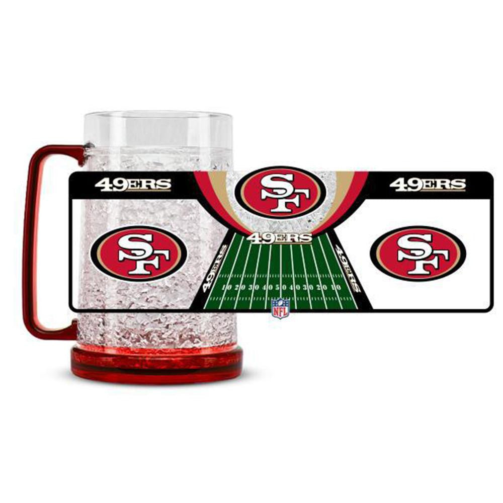 San Francisco NFL 49ers NFL Crystal Freezer Mug
