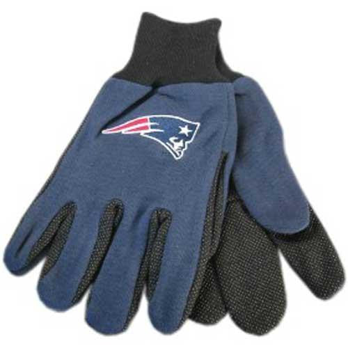 New England Patriots NFL Two Tone Gloves
