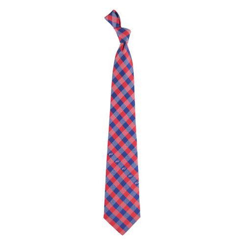 Buffalo Bills NFL Check Poly Necktie