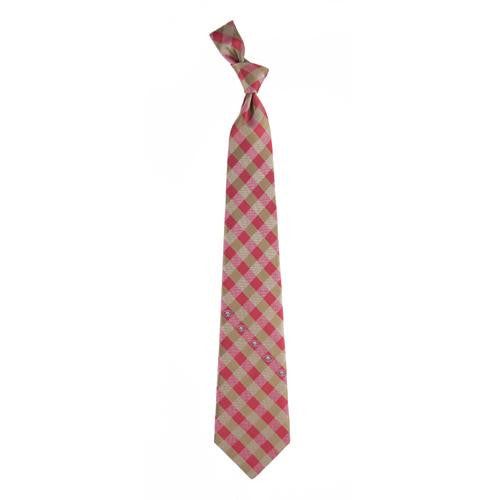 San Francisco 49ers NFL Check Poly Necktie