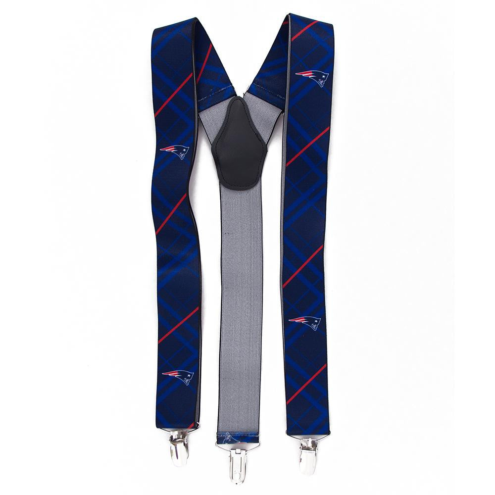New England Patriots NFL Oxford Mens Suspenders