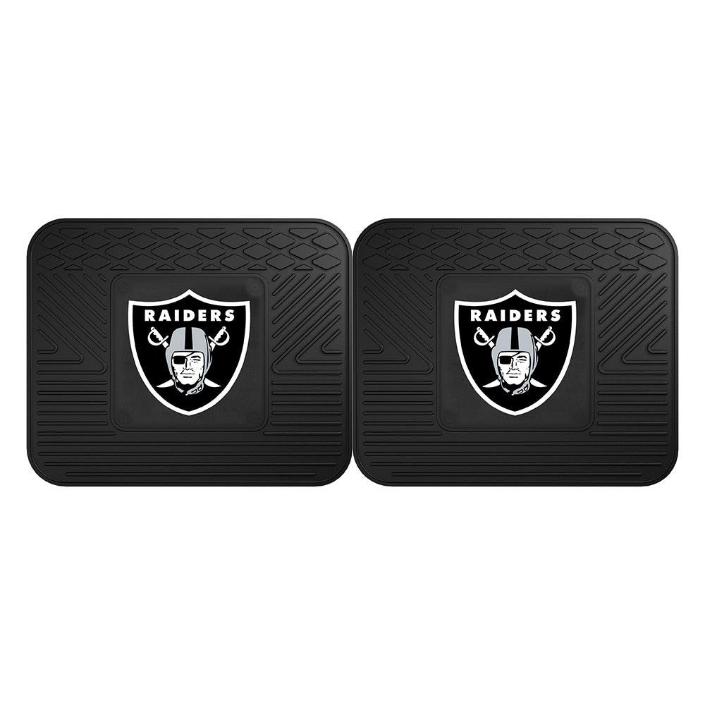 Oakland Raiders NFL Utility Mat (14x17)(2 Pack)