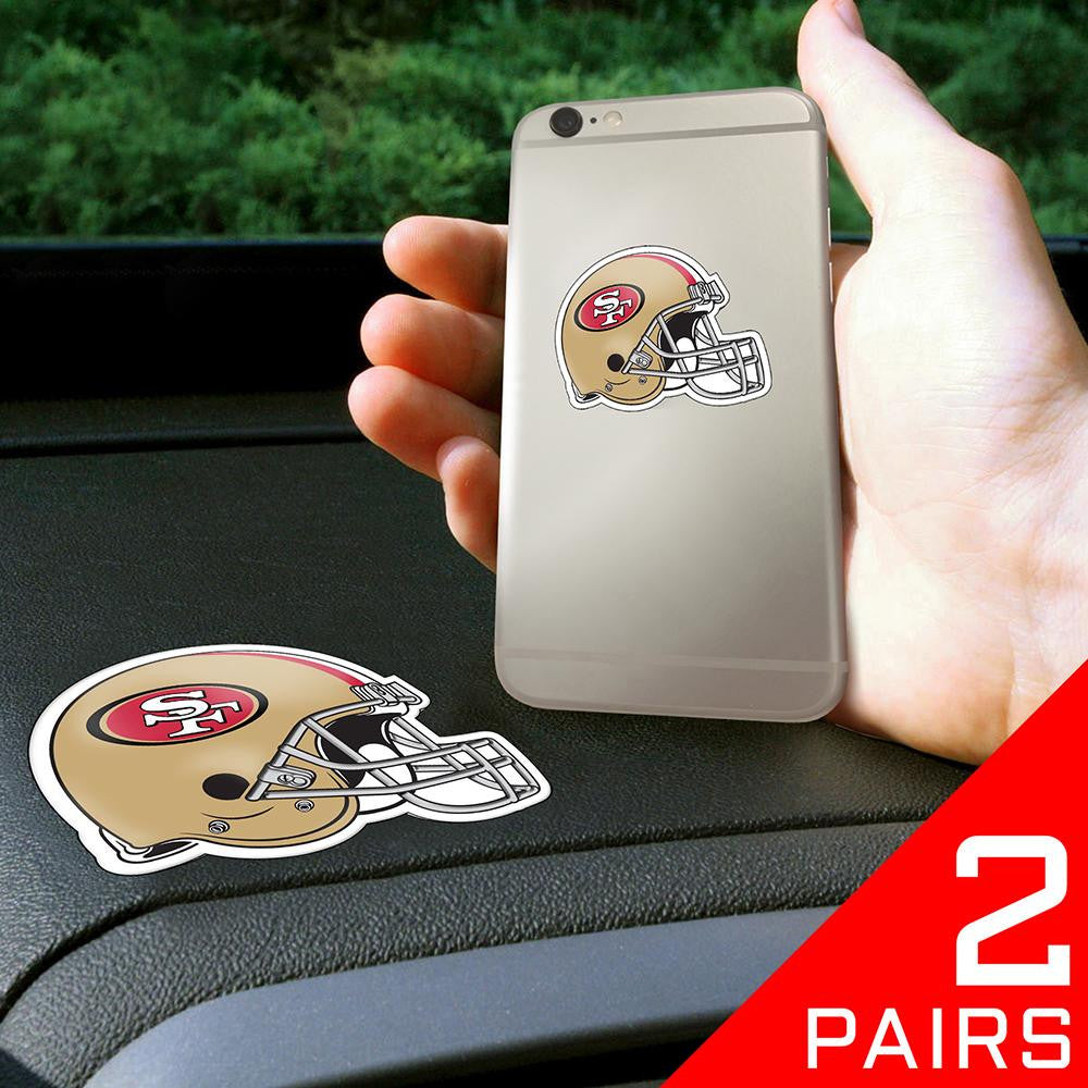 San Francisco 49ers NFL Get a Grip Cell Phone Grip Accessory (2 Piece Set)