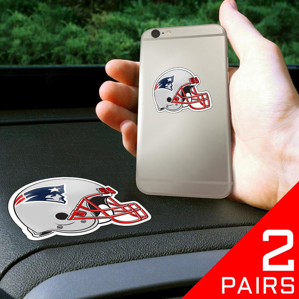 New England Patriots NFL Get a Grip Cell Phone Grip Accessory (2 Piece Set)