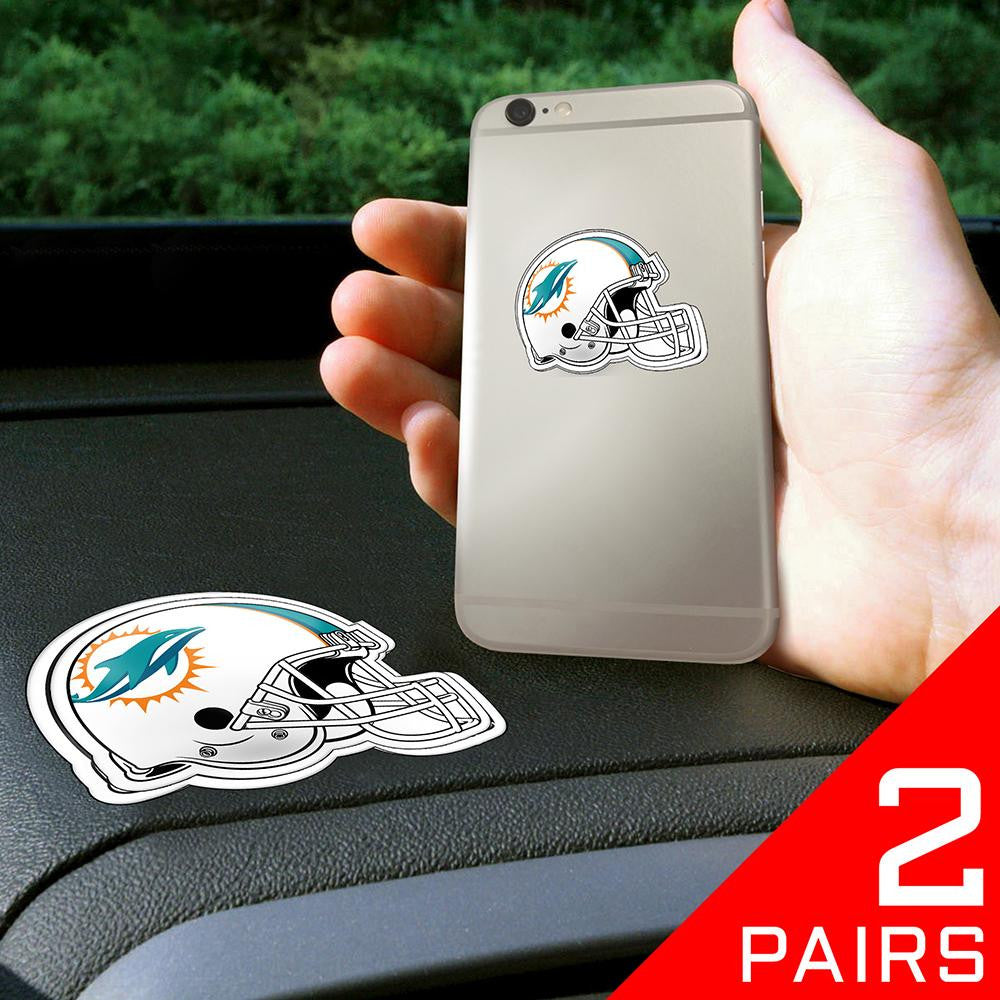Miami Dolphins NFL Get a Grip Cell Phone Grip Accessory (2 Piece Set)