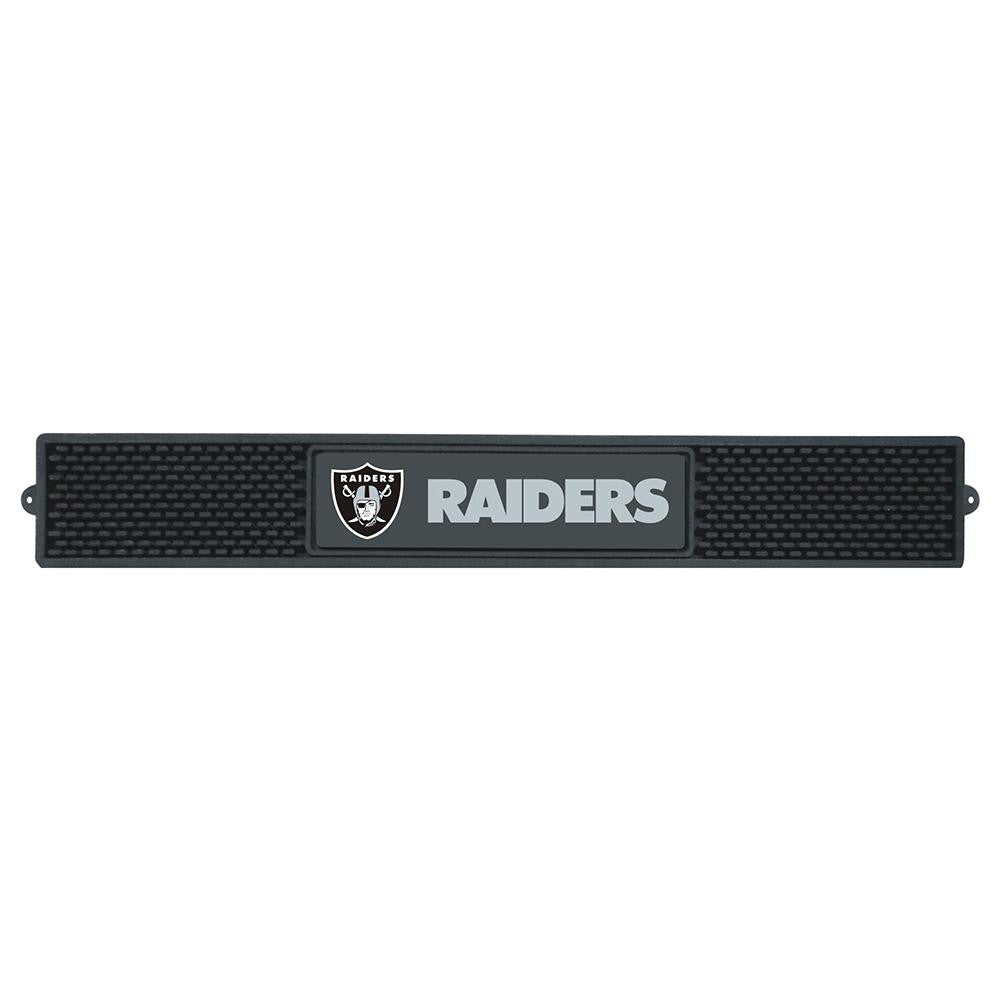 Oakland Raiders NFL Drink Mat (3.25in x 24in)