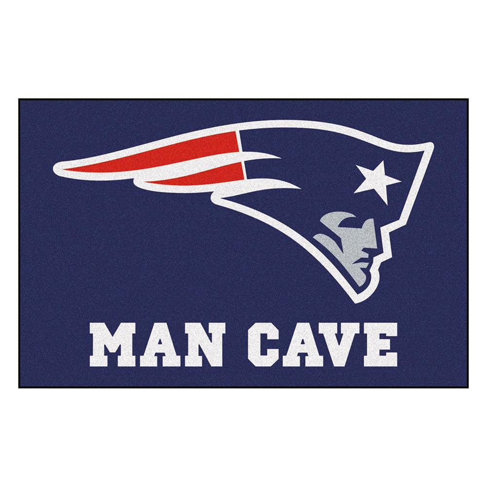 New England Patriots NFL Man Cave Starter Floor Mat (20in x 30in)