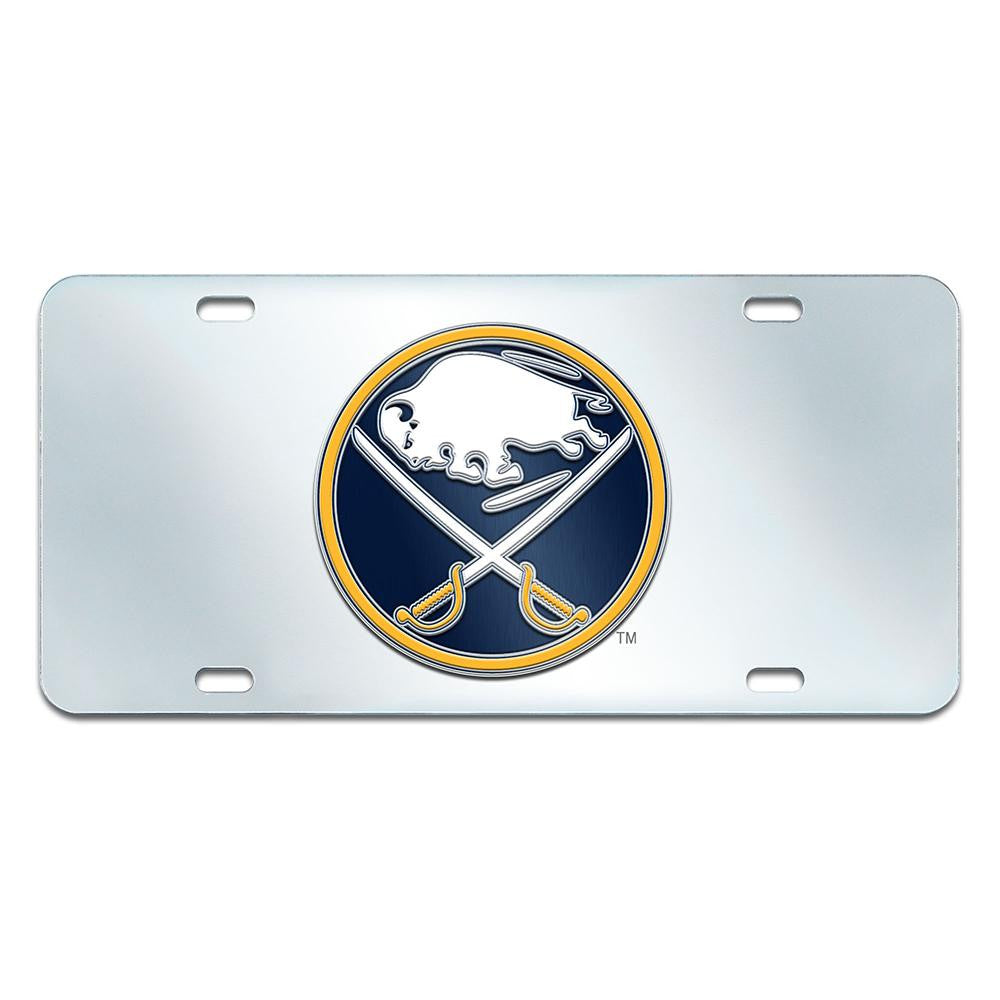 Buffalo Sabres NHL License Plate-Inlaid