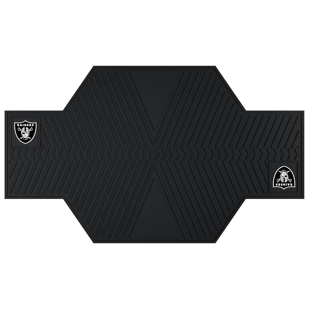Oakland Raiders NFL Motorcycle Mat (82.5in L x 42in W)
