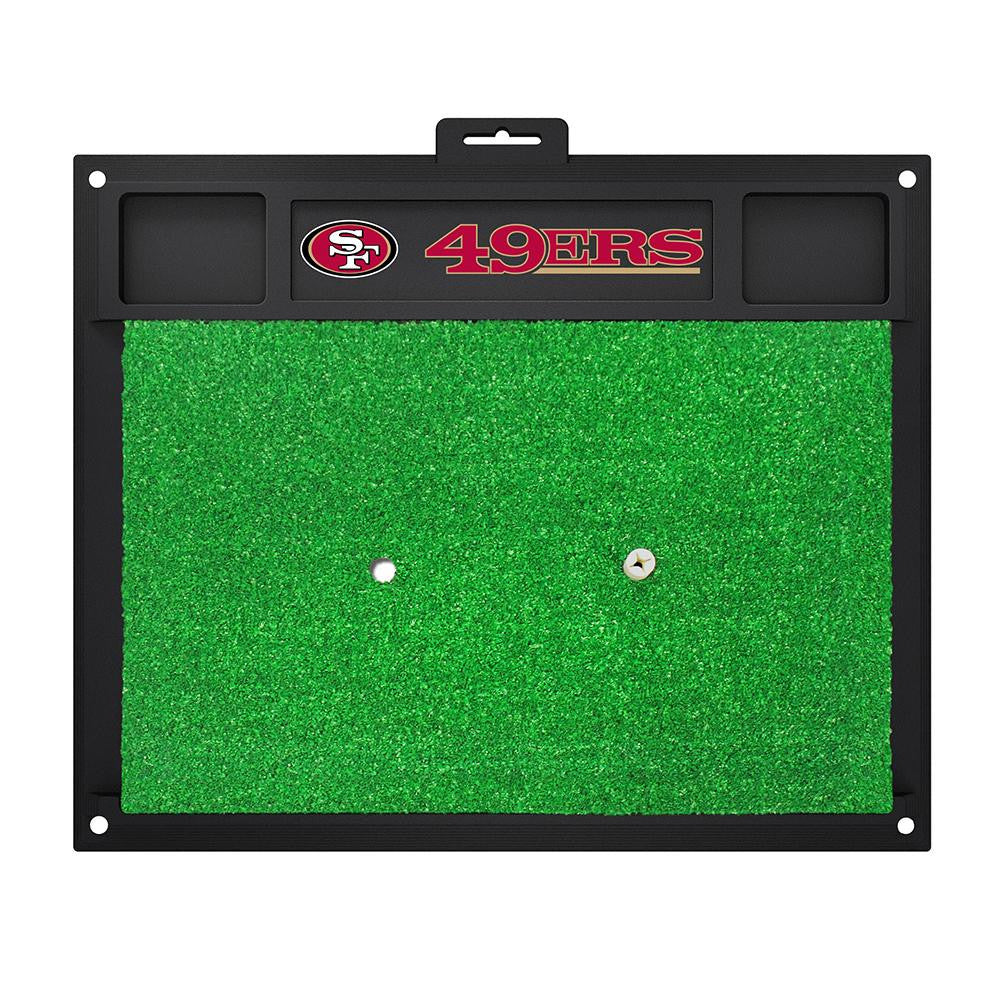 San Francisco 49ers NFL Golf Hitting Mat (20in L x 17in W)