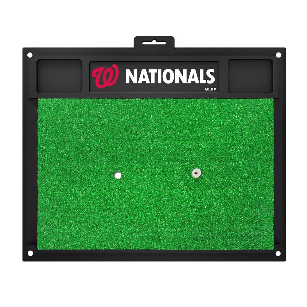 Washington Nationals MLB Golf Hitting Mat (20in L x 17in W)