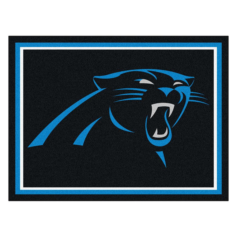 Carolina Panthers NFL 8ft x10ft Area Rug