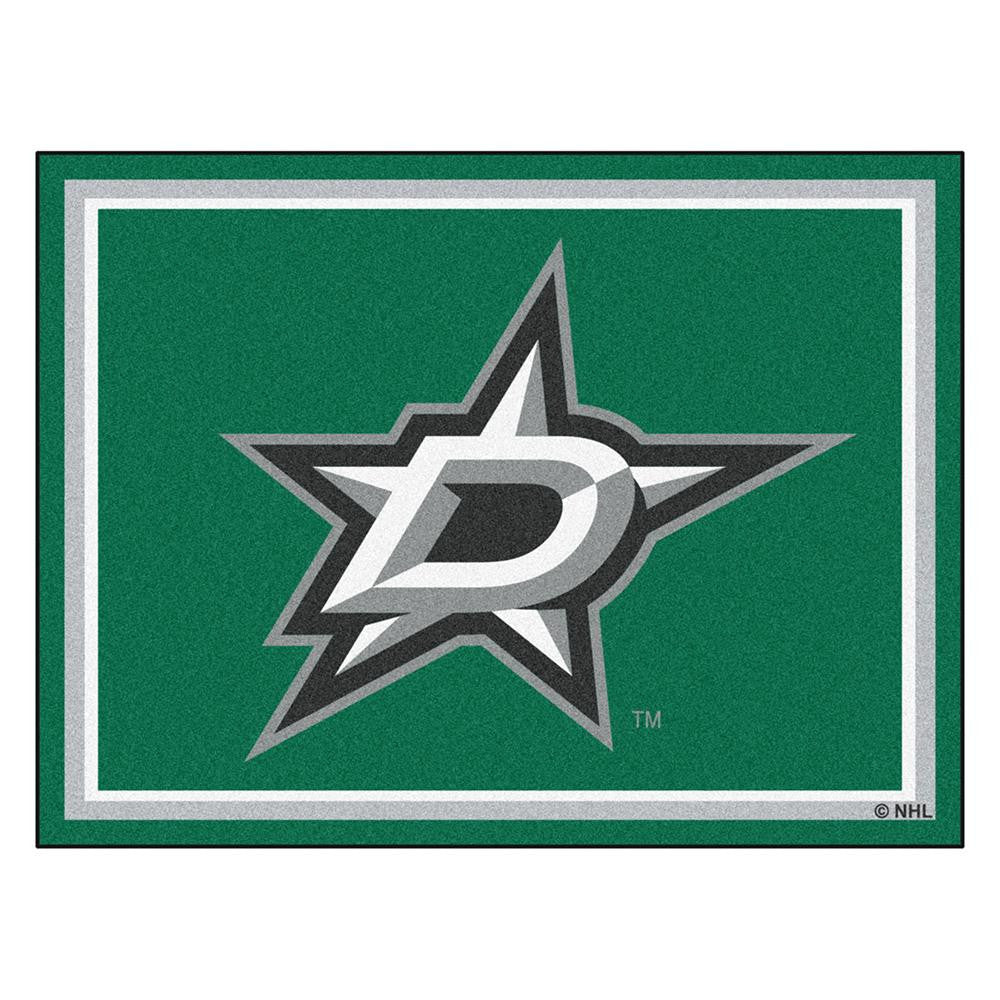 Dallas Stars NHL 8ft x10ft Area Rug