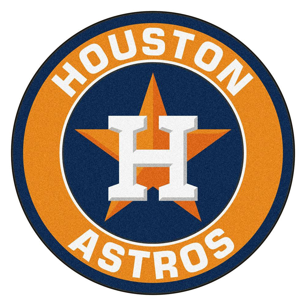 Houston Astros MLB Round Floor Mat (29)