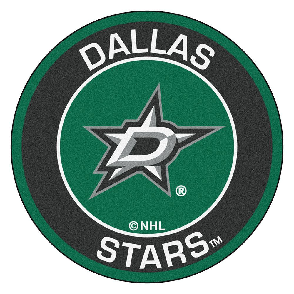 Dallas Stars NHL Round Floor Mat (29)