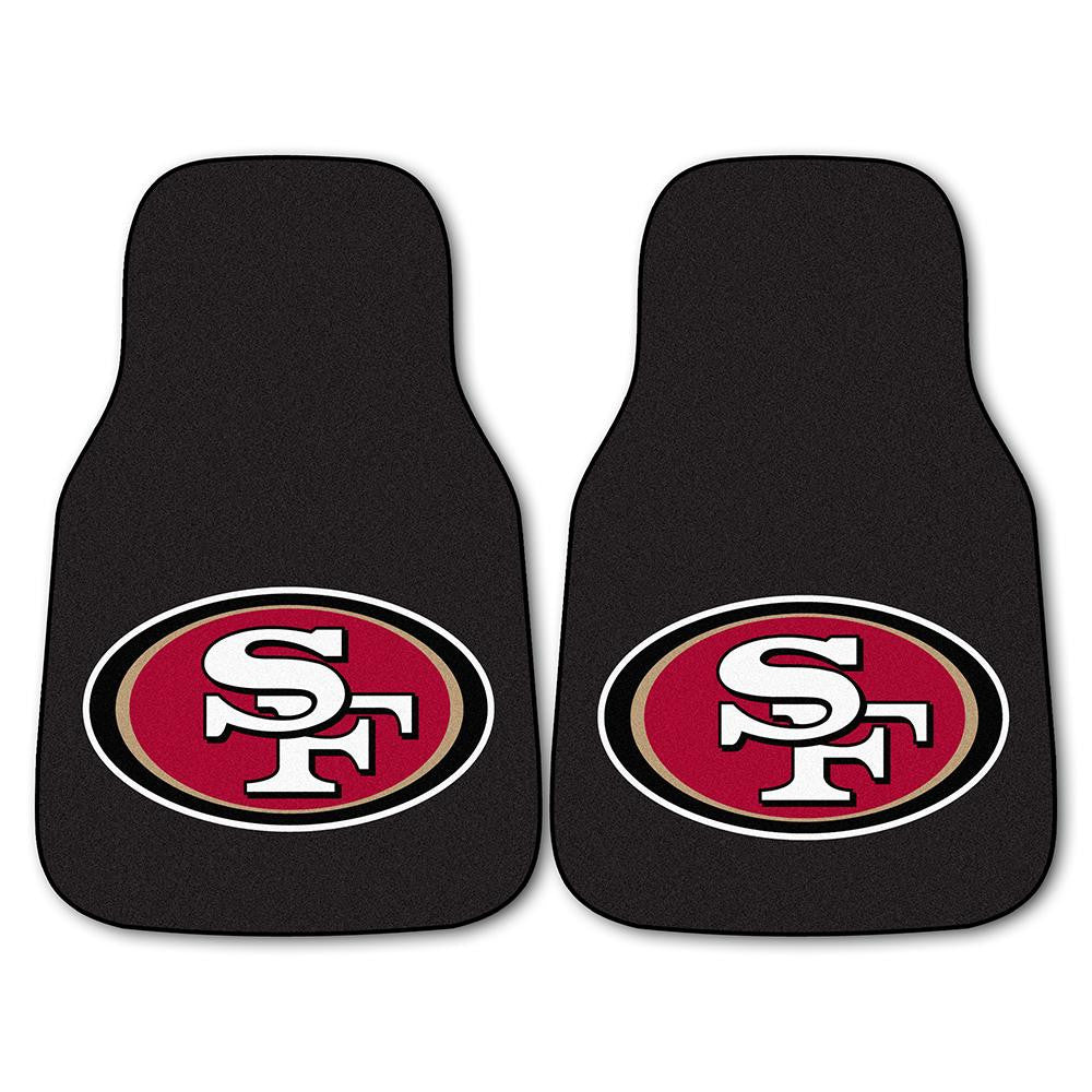 San Francisco 49ers NFL Car Floor Mats (2 Front)