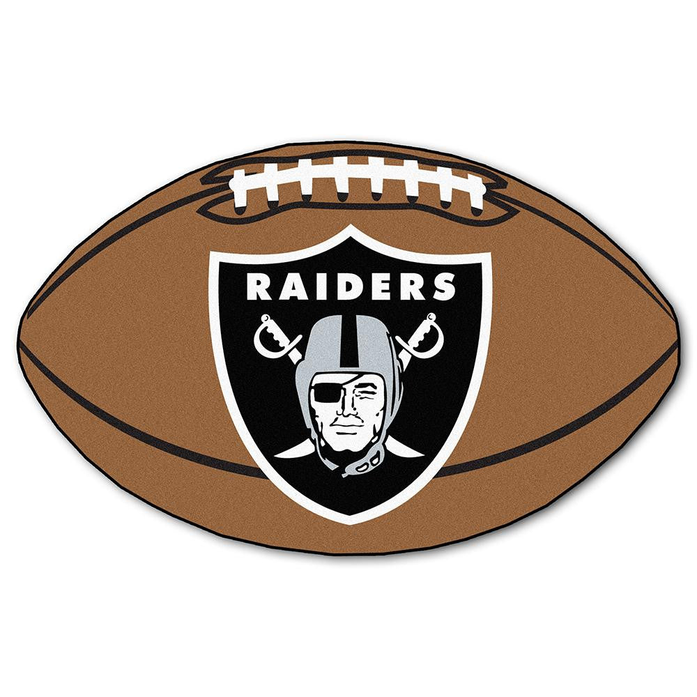 Oakland Raiders NFL Football Floor Mat (22x35)