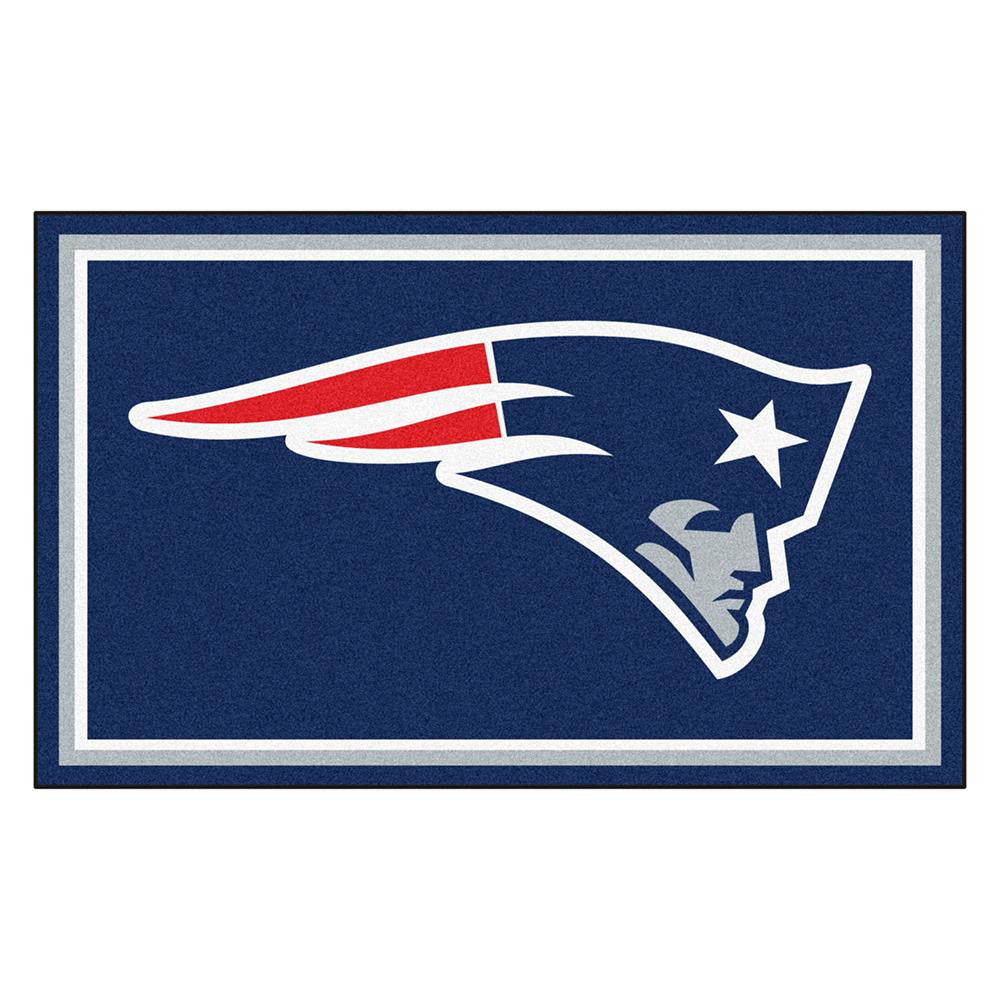 New England Patriots NFL Floor Rug (4'x6')