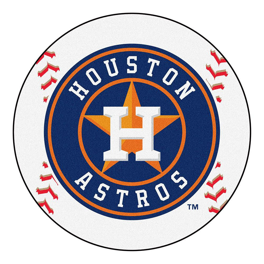 Houston Astros MLB Baseball Round Floor Mat (29)