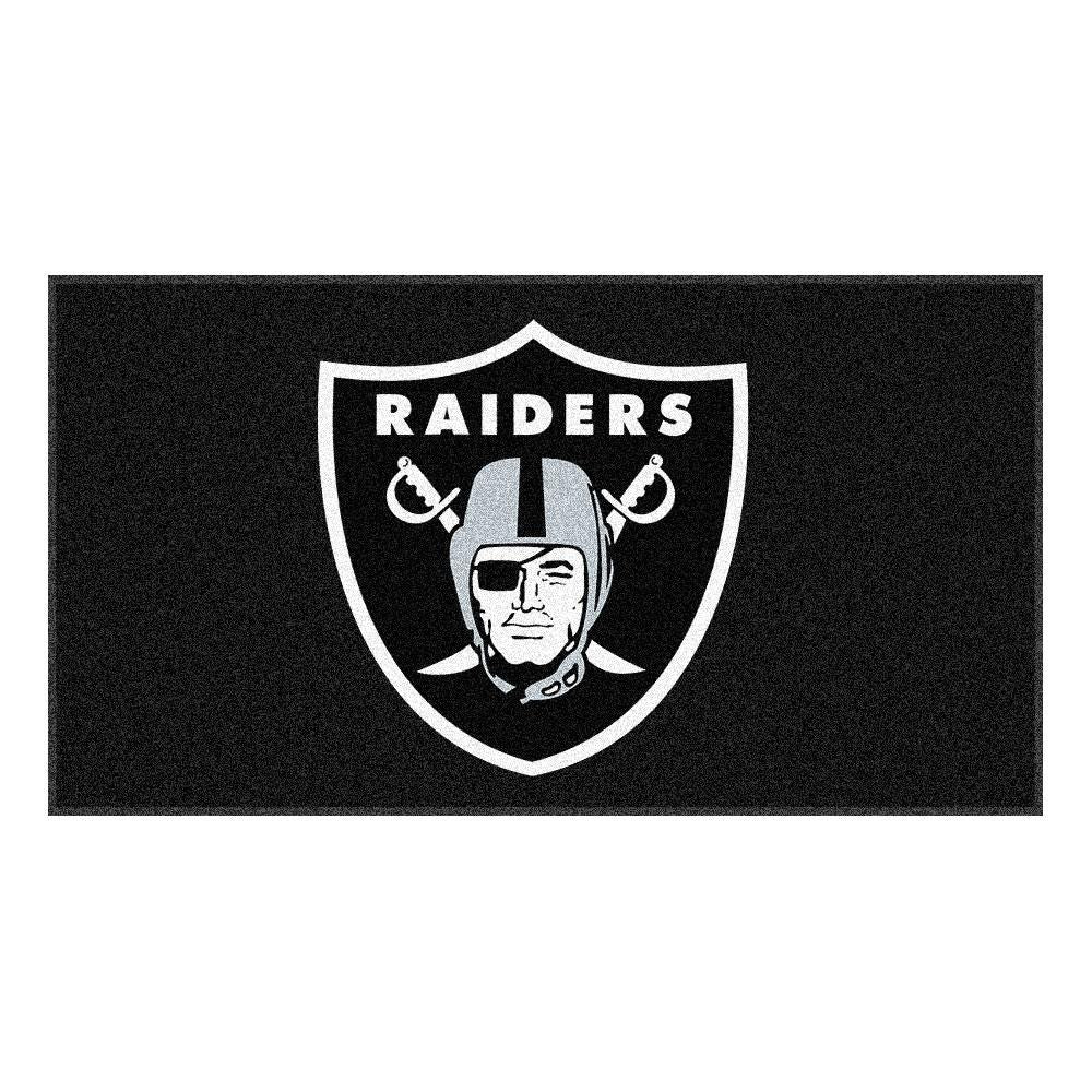 Oakland Raiders NFL Rookie Bathroom Rug (19x30)