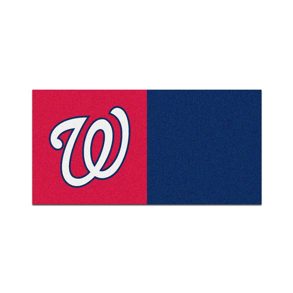 Washington Nationals MLB Team Logo Carpet Tiles