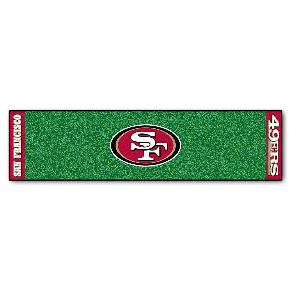 San Francisco 49ers NFL Putting Green Runner (18x72)