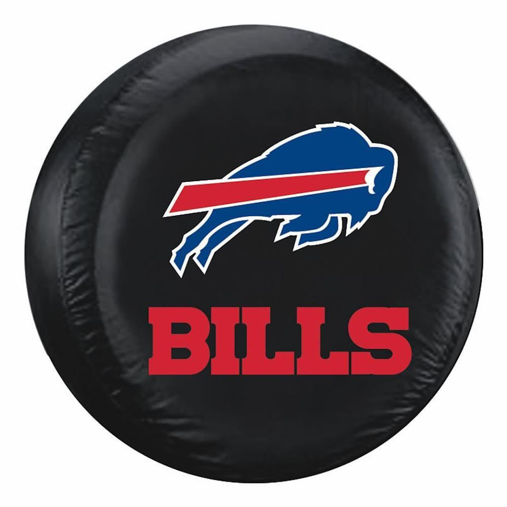 Buffalo Bills NFL Spare Tire Cover (Large) (Black)