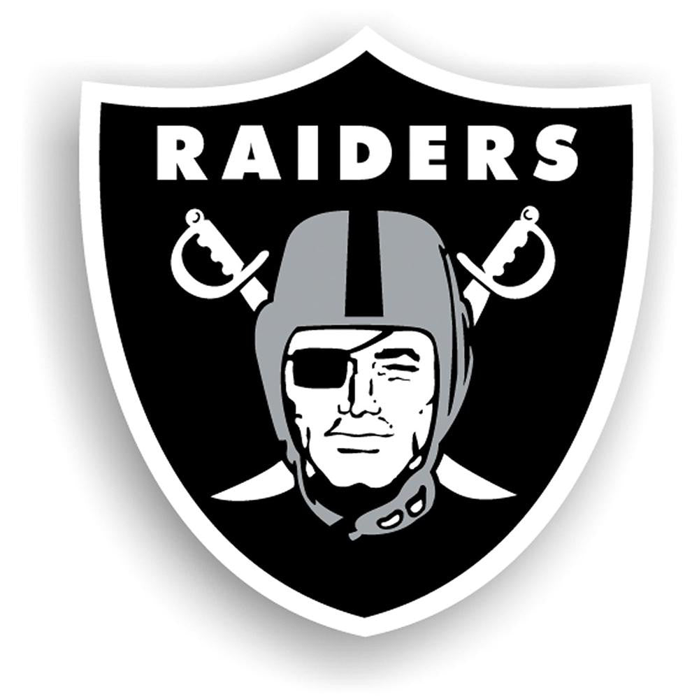 Oakland Raiders NFL 12 Inch Car Magnet