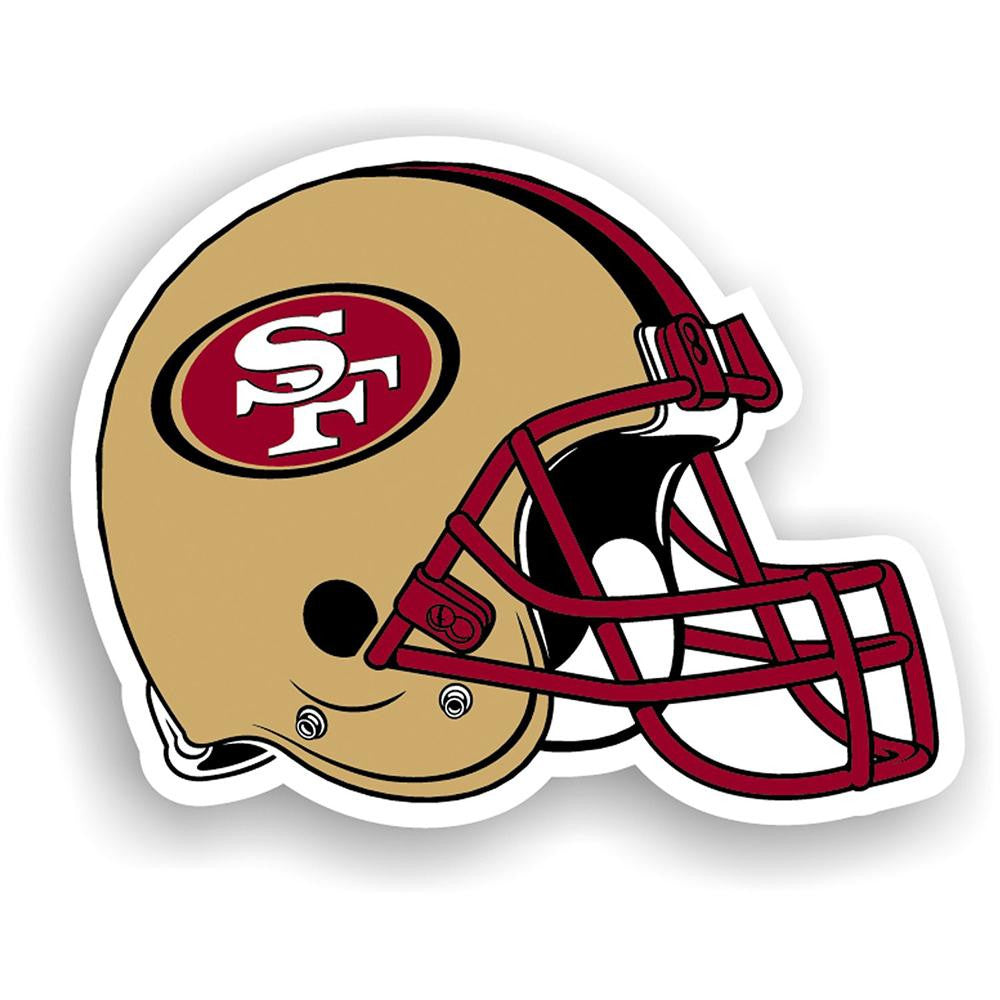 San Francisco 49ers NFL 12 Inch Car Magnet