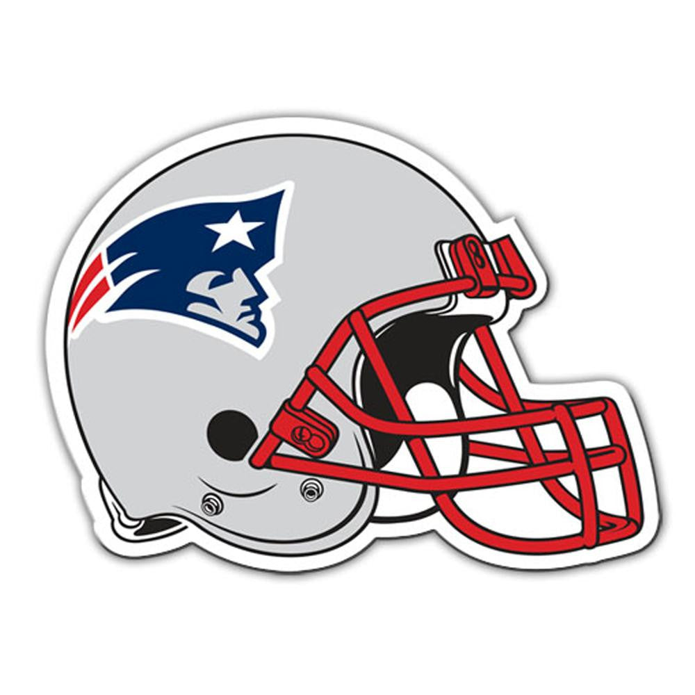 New England Patriots NFL 8 Inch Car Magnet