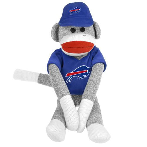 Buffalo Bills NFL Plush Uniform Sock Monkey