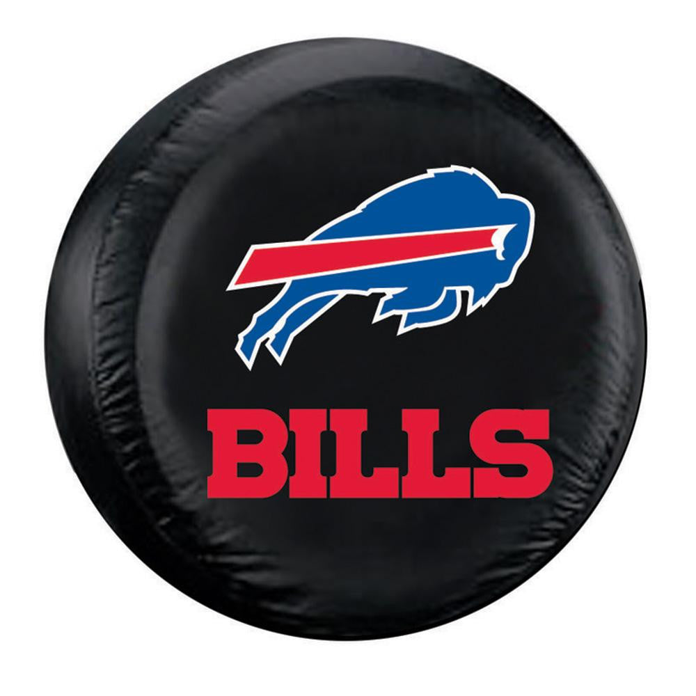 Buffalo Bills NFL Spare Tire Cover (Standard) (Black) xyz