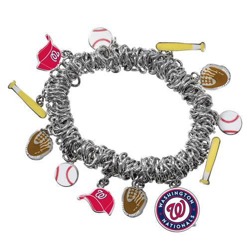 Washington Nationals MLB Bracelet with Charms
