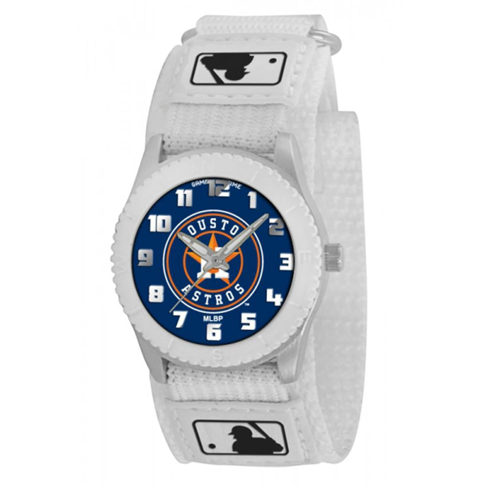 Houston Astros MLB Kids Rookie Series Watch (White) xyz