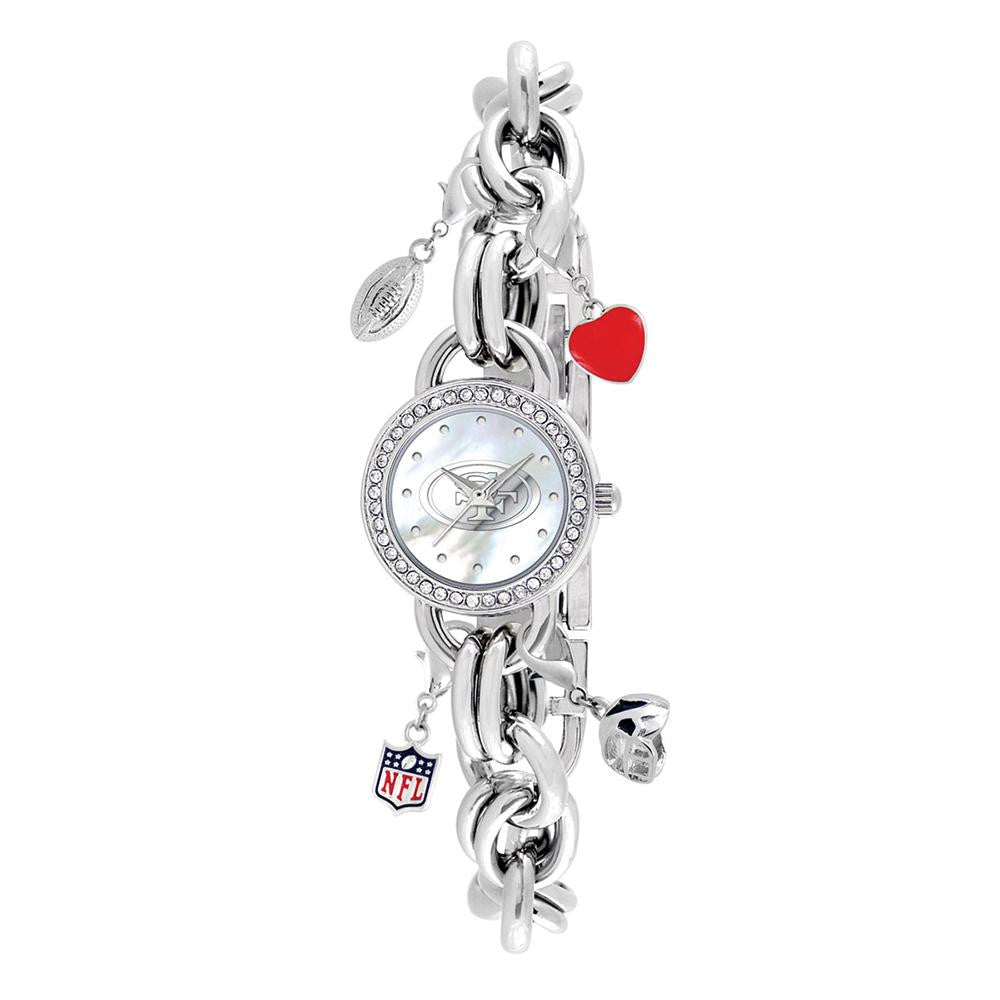 San Francisco 49ers NFL Women's Charm Series Watch