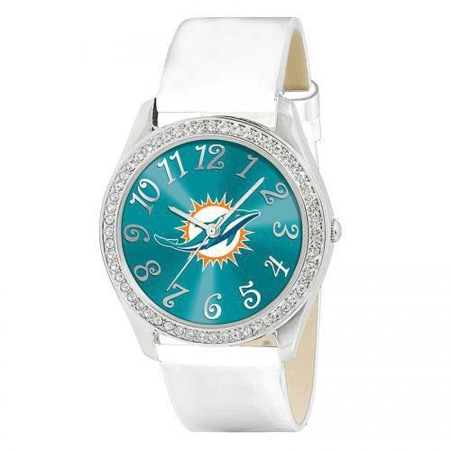Miami Dolphins NFL Ladies Glitz Series Watch