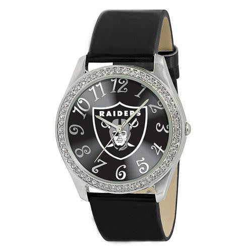 Oakland Raiders NFL Ladies Glitz Series Watch